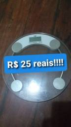 Balança digital.  25 reais