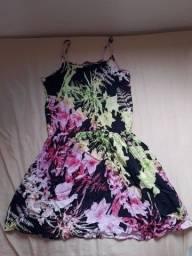 Vestido de alça florido