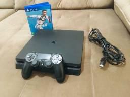 PS4 slim 1 T sem marcas de uso
