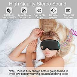 Máscara de dormir Bluetooth