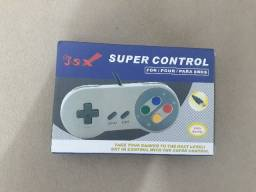 Controle Super Nintendo USB