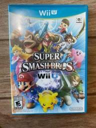 Super Smash Bros for Wii U - CD original em perfeito estado -