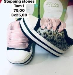 Sapatinho stepping stones para menina