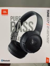 Fone Bluetooth JBL Tune 500BT Original