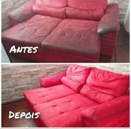 Lavagem de sofá em domicílio
