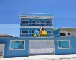 Cobertura com 2 dormitórios à venda, 72 m² por R$ 230.000,00 - Extensão Novo Rio das Ostra