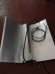 Refletor completo com lâmpada e reator de 400w