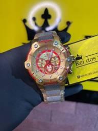 Relógio invicta Bolt iron Man !