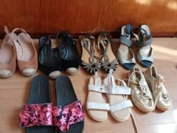 Sapatos usados valor a combinar