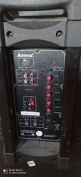 Vendo caixa via Bluetooth AMVOX 750 WATS.