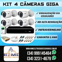 Câmera de segurança IP wireless