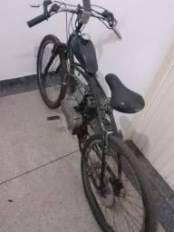 Vendo bicicleta motorizada com motor 4 tempos