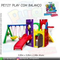 Venda Playground Petit Play com balanço colorido - Apenas por encomenda
