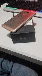 LG K11 Gold tela quebrada
