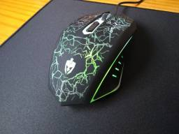 Mouse gamer Evolut Leds RGB
