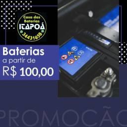 Baterias aparti de 100,00 com garantia!!