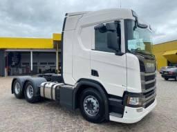 Título do anúncio: Scania R450 6x2 ano 2020/2021 - Unico Dono (Entrada+Parelas)