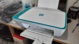 Impressora HP Wi-Fi Deskjet Ink Advantage multifuncional 2676