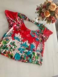 Blusa estampada - Bazar da Kelly