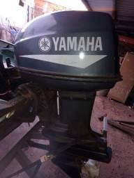 Motor de Popa Yamaha 40 Hp com partida elétrica