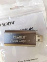 Rullz Mini Placa de Captura HDMI USB 3.0 1080p 60FPS