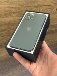 iPhone 11 Pro Max 64GB Verde Green - Até 18x no cartão! Semi novo 64 GB 256 256gb