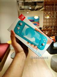Nintendo Switch Lite Turqueza ( LACRADO OLX COMPRA SEGURA ABC SP)