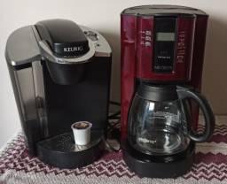 Cafeteiras Americanas Keurig B60 e Mr. Coffee 12-Cup