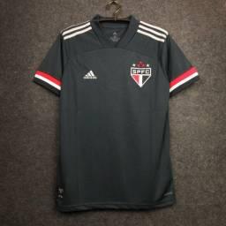 Camisa são Paulo preta 2020/21