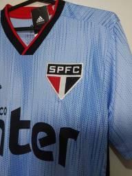 Camisa III São Paulo 2019 azul