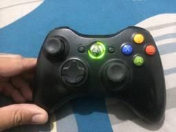 Controle Xbox 360 original em perfeito estado e funcionando todos botoes 50 apenas