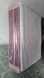 Lacradas e novas / camas box casal modelo super luxo mega confortável carreto gratis