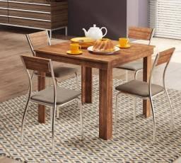 Mesa Julieta + 4 cadeiras Fineza - Pronta Entrega!!!!