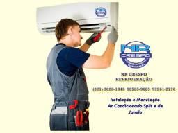 Título do anúncio: Ar-condicionado-instalação-manutenção ( melhor custo benefício)