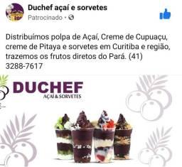 Distribuidora de açaí, cupuaçu, pitaya