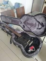 Guitarra Elétrica SG Epiphone G310 Preta +Capa