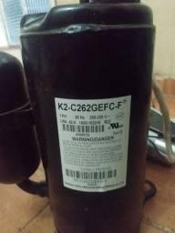 Vendo compressor de ar condicionado 12 BTUs