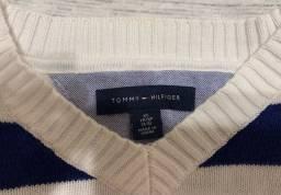 Suéter tricot infantil Tommy Hilfiger TAM 4-5