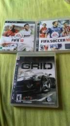 3 jogos originais PS3 por 50 reais