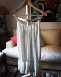 Vendo vestido  estampa POA soltinho tamanho P R$25