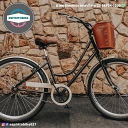 Bicicleta Feminina Samy  Vintage Estilo Retrô