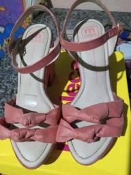 Sandalia de salto moleca