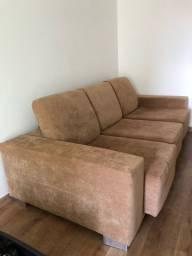 Sofá Assento Retrátil e Reclinável