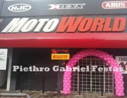 Arco de Balões Para Lojas e Comércios