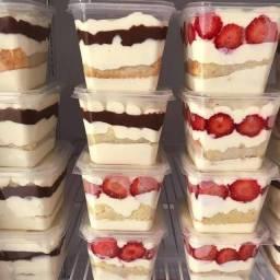 Aprenda a fazer bolos no pote gourmet