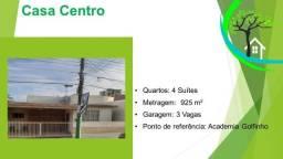 casa com 4 suítes no centro - R$ 580 mil