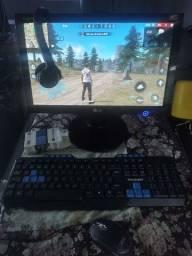 Computador com free fire e outras jogos