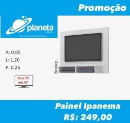 painel para televisão branco Ipanema de até 42?