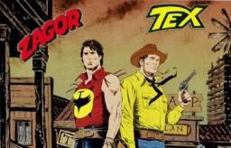 Coleção Digital pacote com Tex,Zagor,Ken Parker e outros completo e atualizado hqs