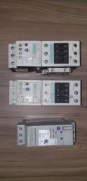 Contator Siemens 3rt1034 + relé 3ru1136 + Soft Starter 9A